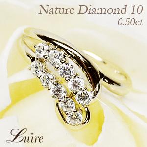 K18ゴールド 記念日にはフラワーモチーフのダイヤモンドリング 10周年 海外並行輸入正規品 ダイヤモンド 0.50ct 結婚記念 フラワー リング 天然ダイヤモンド プレゼント K18WG YG ギフト PG 誕生日 海外限定 指輪 彼女