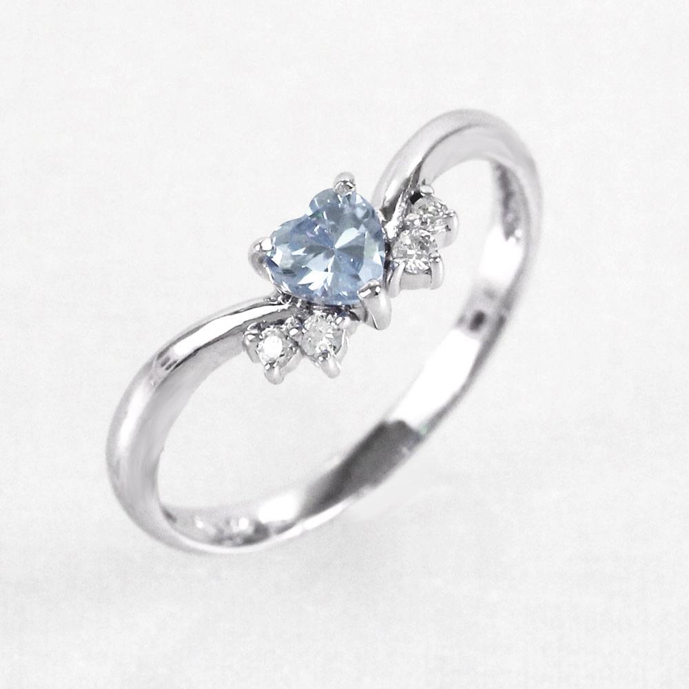 ムーンストーン リング カラーストーン ハートシェイプ ハート ダイヤモンド 指輪 誕生石 レディース 一粒 プラチナ 900 pt900