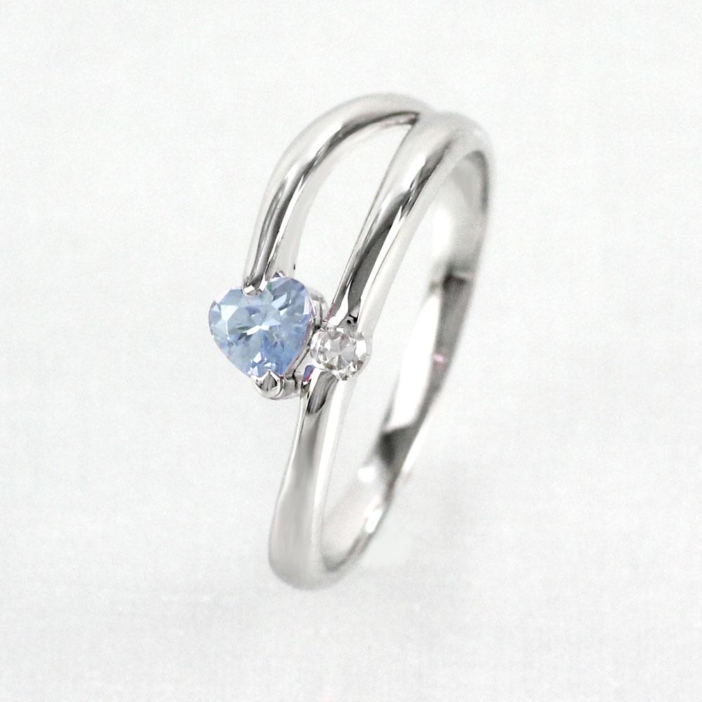 ムーンストーン リング カラーストーン ハートシェイプ ハート ダイヤモンド 指輪 誕生石 レディース 一粒 ゴールド k18 18k 18金