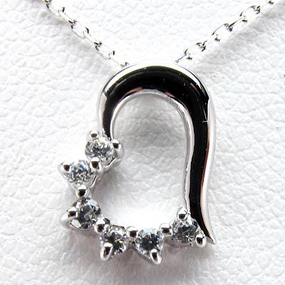 K10 ゴールド K10 ハート ダイヤモンドペンダント ネックレス K10ホワイトゴールド 誕生日 プレゼント【送料無料】