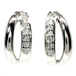 シンプルピアス プレゼントK18ホワイトゴールド 天然ダイヤモンド 結婚記念 誕生日 彼女 ゴールド 自分ご褒美ギフト クリスマス 誕生石 パワーストーン