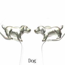 18K K18ゴールド 【送料無料】イヌピアス アニマル 動物 ドッグK18ゴールド ギフト 誕生日 プレゼント いぬ 犬彼女 ピアス 自分ご褒美