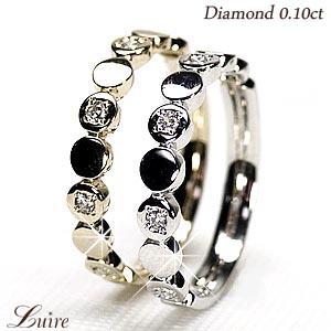 18K K18ゴールド エタニティリング ダイヤモンドリング エタニティ 重ね使い 誕生日プレゼント彼女 指輪 自分ご褒美 【K18WG】【K18YG】【K18PG】 【送料無料】