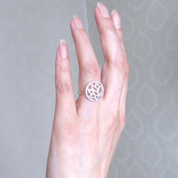 プラチナ900 フラワーリング ダイヤリング 0 50ct 誕生日 プレゼント 指輪優勝セール 送料無料8mwN0n