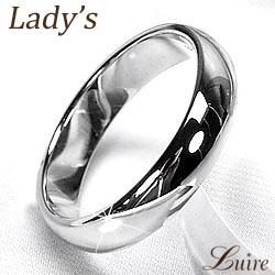 K10 ゴールド 【送料無料】レディースリング シンプル 甲丸4ミリ幅幅広 甲丸指輪 結婚指輪 K10ゴールドプレゼント マリッジリング 誕生日