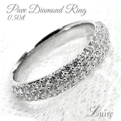 プラチナ900 パヴェリング 誕生日 エタニティリング 0.50ct ダイヤモンドリング PT900 結婚記念 誕生日 プラチナ900 鑑定書プレゼント パヴェリング 結婚指輪, シームレスインナーSMOON-スムーン:c7d6c069 --- finact.net.au