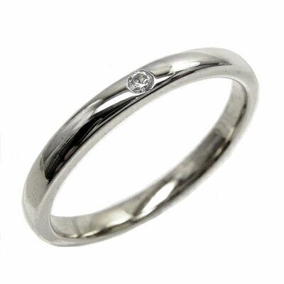 プラチナ900 ダイヤリング 一粒石 重ね付け ダイヤモンドリング 結婚指輪 ギフト 誕生日 プレゼント 彼女 ストレート 自分ご褒美 ゴールド