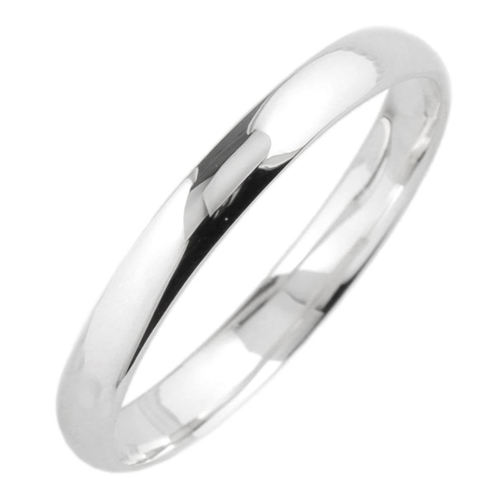 18K K18ゴールド 【送料無料】メンズリング シンプル結婚指輪 K18WG 結婚記念 プレゼント 指輪 マリッジリング 誕生日