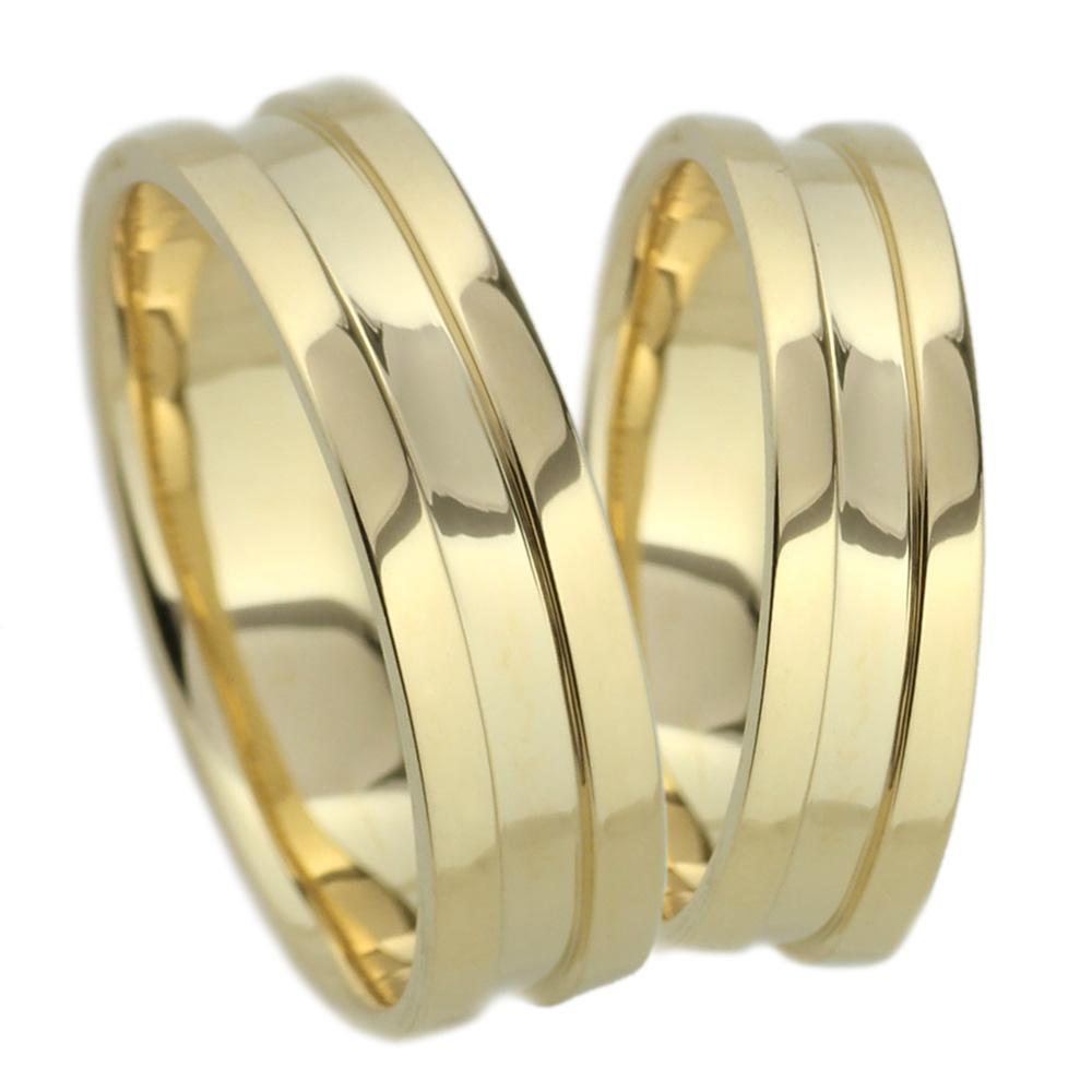 K18 幅広 ペアリング 平打ち 地金リング 結婚指輪 指輪 【K18WG】【K18YG】【K18PG】