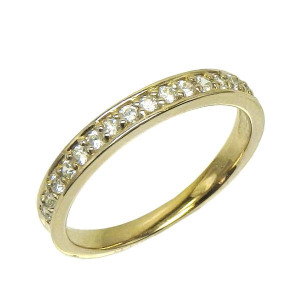 K18 ゴールド エタニティリング ダイヤモンドリング 0.25ct エタニティ SIクラス 誕生日プレゼント彼女 指輪 自分ご褒美 【K18WG】【K18YG】【K18PG】 【送料無料】