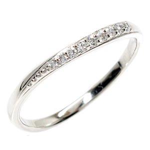 【送料無料】ダイヤリング シンプル指輪 プラチナ900 天然ダイヤモンド ギフト 結婚記念 誕生日 プレゼント 彼女 指輪 プラチナ 自分ご褒美