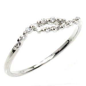 ダイヤリング シンプル PT900 天然ダイヤモンド ギフト 結婚記念 プレゼント 誕生日 彼女 指輪 ゴールド 自分ご褒美