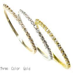 18K K18ゴールド 【送料無料】エタニティ ダイヤリング K18 ゴールド 3本セットエタニティ 天然ダイヤモンド ギフト 結婚記念 誕生日 プレゼント 彼女 指輪 ゴールド