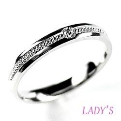 10K K10ゴールド 【送料無料】一粒石 ダイヤリング 結婚指輪 婚約指輪 天然ダイヤモンド K10ホワイトゴールド 鑑別書結婚記念 プレゼント 彼女 指輪 マリッジリング