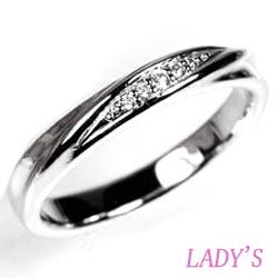 プラチナ900 【送料無料】ダイヤリング 結婚指輪 天然ダイヤモンド 結婚記念 ギフト 鑑別書誕生日 プレゼント 彼女 指輪 ゴールド