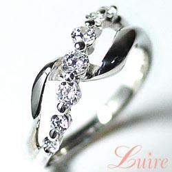 プラチナ900 【送料無料】ダイヤモンド0.50ct 彼女 天然ダイヤモンド 誕生日 プレゼント