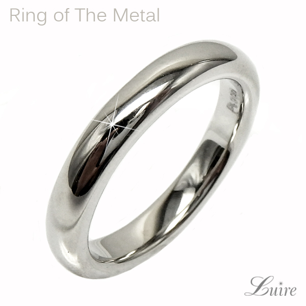 プラチナ900 地金リング 結婚指輪 レディースリング PT900 プレゼント マリッジリング 誕生日【送料無料】