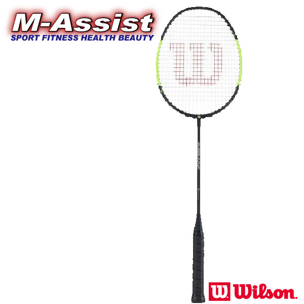 【ポイント】 バドミントン祭 ウィルソン Wilson BLAZE S Plus BADMINTON バドミントンラケット ブレーズ WR010211S+ 軽量 4U ヘッドライト ガット張り済 操作性 エムアシスト