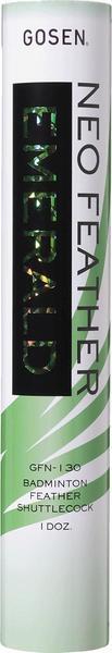 【ポイント】 バドミントン祭 GOSEN GFN130 EMERALDシャトル(第2種検定球)5本(5ダース)水鳥 検定球 ゴーセン シャトル エメラルド 強い 耐久性 送料無料 エムアシスト
