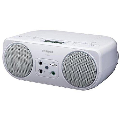 ワイドFM対応 日本産 往復送料無料 CDラジオ 東芝 TY-C200 ポスカ付