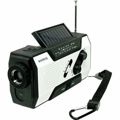 ラジオ WINTECH KDR-201WP 高級な ポスカ付 2020モデル