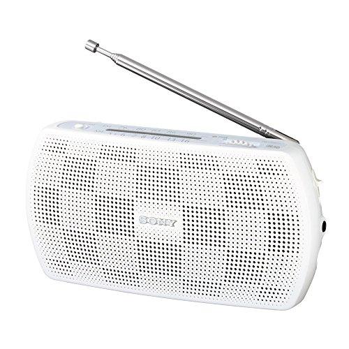 ラジオ SONY SRF-19 ポスカ付 ホワイト 2020秋冬新作 W 捧呈