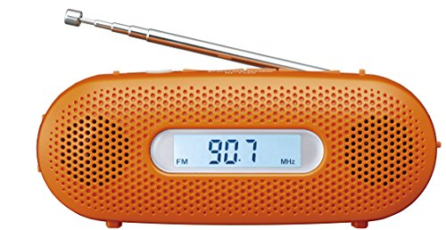 ラジオ パナソニック RF-TJ20-D ポスカ付 オレンジ ショッピング ディスカウント