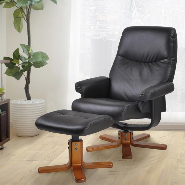選べる3色 リクライニングチェア(ヘッドレスト・オットマン付) RC2700 座椅子 1人掛け 母の日 父の日 敬老の日 ギフト 【05P19Jun16】