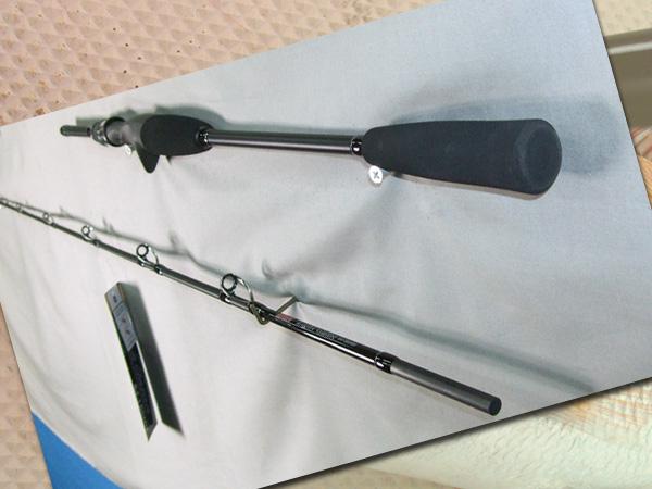 タイラバ 超軽量 ソリッドティップ FUJIガイド仕様 2350mm