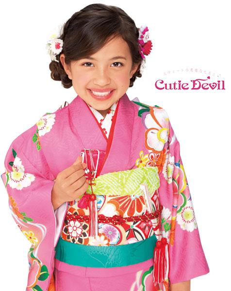 七五三女の子7歳着物22点セット キューティーデビルCA703