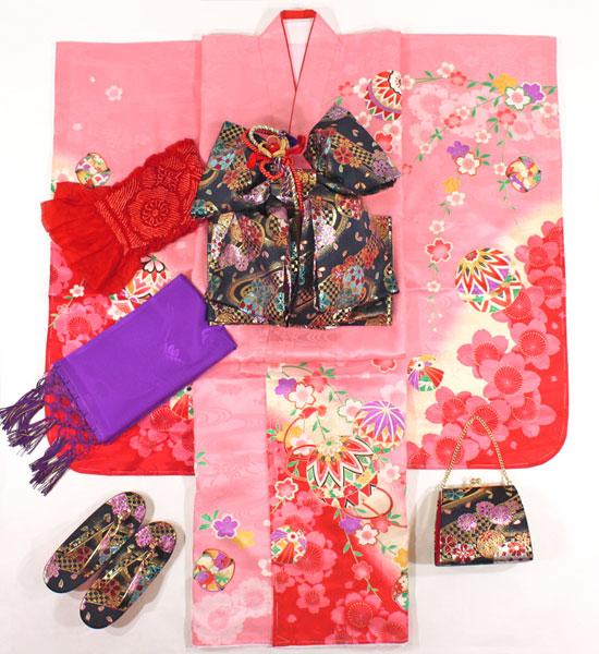 七五三女の子7歳着物20点セット正絹asai10