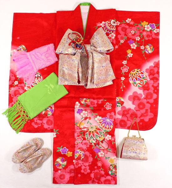 七五三女の子7歳着物20点セット正絹asai12