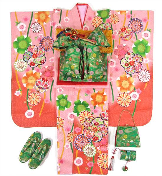 七五三女の子7歳着物20点セット正絹wasa05