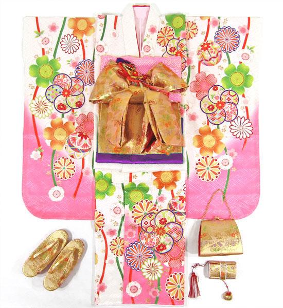 七五三女の子7歳着物20点セット正絹wasa07