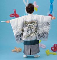 七五三男の子5歳着物袴11点セット和がままa501