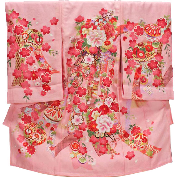 [送料込み]女の子お宮参り着物 kogi01 ピンク