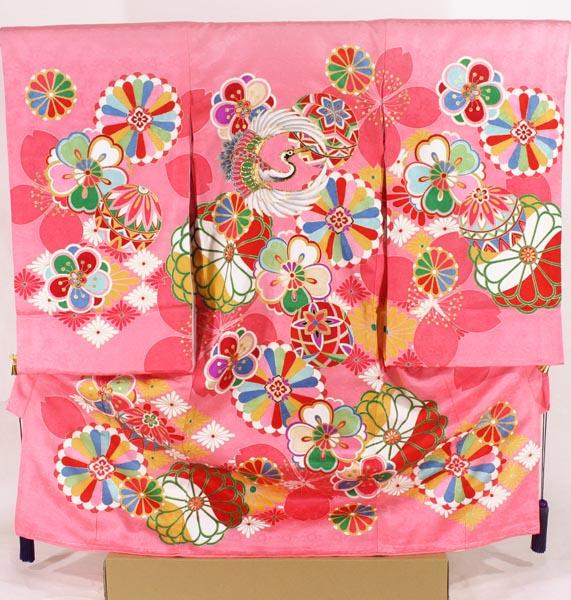 [送料込み]女の子お宮参り着物 pogi02 ピンク