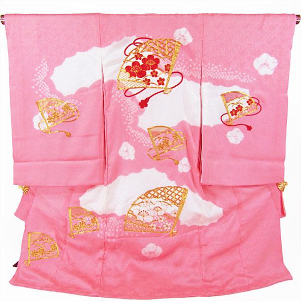 女の子お宮参り着物 nogi09 ピンク