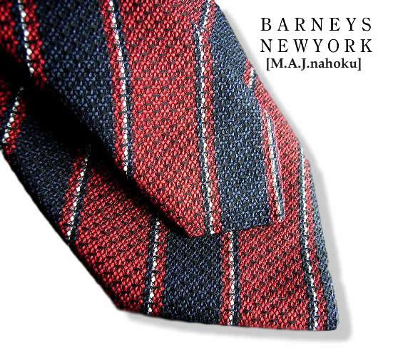938新品★バーニーズ ニューヨーク BARNEYS NEWYORK★★ ネクタイ イタリー製★★MENS