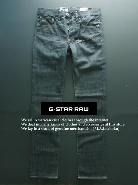 3211新品★ジースター G-STAR RAW★ヴィンテージデニム2101 3301 SLIM FIT★黒系★29/34★MENS★