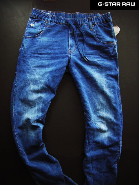 7610-7新品★ジースター G-STAR RAW★ヴィンテージJOGG系3Dデニム2801 ARC 3D SPORT TAPERED★MENS★