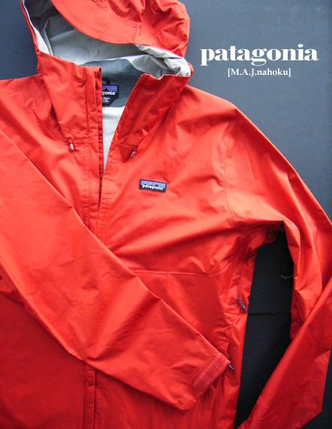 7567新品★パタゴニア patagonia★トレントシェル ジャケット★エンジ系★XL★MENS★大きいサイズ