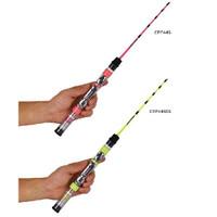 メーカー直売 氷上釣り対応のワカサギ専用ロッド 高額売筋 プロックス PROX クリアロックプラス 44cm
