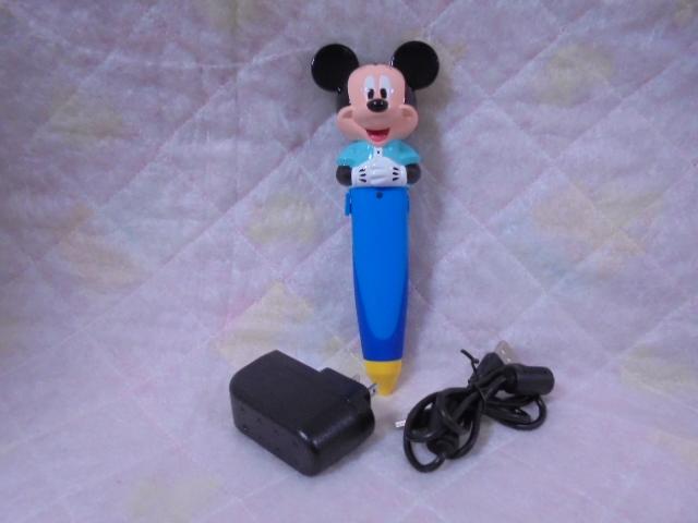 e297 新着 DWEディズニー英語システム ワールドファミリー 【中古】 ミッキーマジックペン 幼児英語教材
