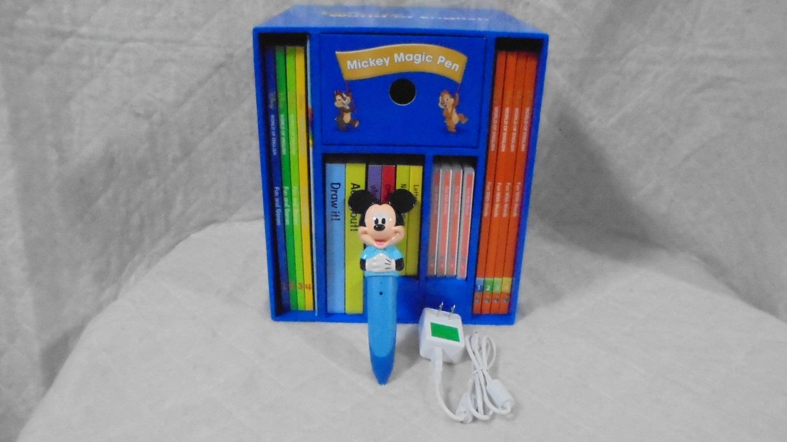 2019年4月17日発売 返品送料無料 最新版 超歓迎された ミッキーマジックペンセット g8465 DWEディズニー英語システム 中古 ワールドファミリー
