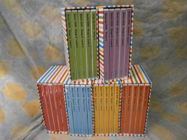 g3101 新着 ベネッセ ワールドワイドキッズイングリッシュ 【中古】 WORLD WIDE KIDS ST1~6 DVDのみ 幼児英語教材