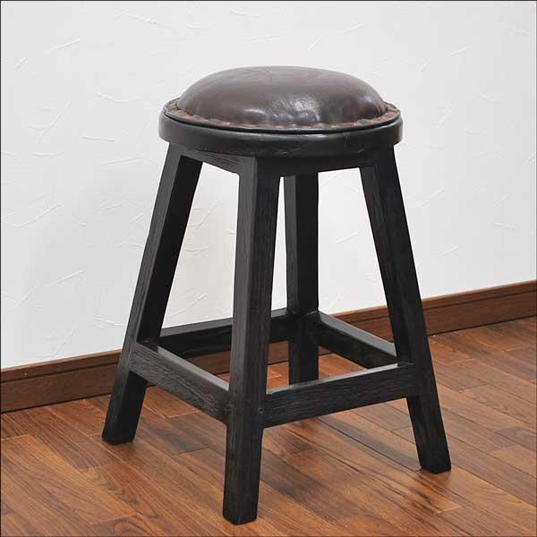 Teak solid wood leather upholstery stool Asian furniture and Balinese furniture / chair / chair / & auc-mamoqq   Rakuten Global Market: Teak solid wood leather ... islam-shia.org