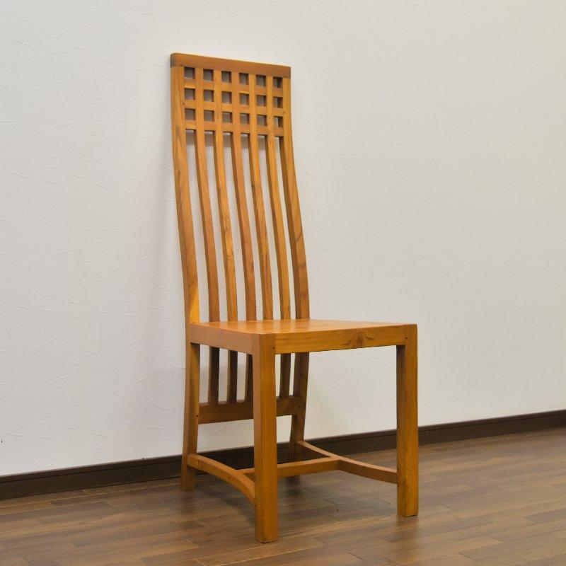 イス】 バリ家具 椅子 チーク無垢材のダイニングチェアー【バリ島直輸入 アジアン家具