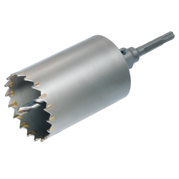 Sコアドリル 65.0mm ボディ単体 振動用コアドリル コアドリルカッター モルタル/ブロック/日本壁/スレート/大理石/木材・レンガ/石膏ボード用コアドリル