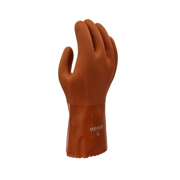 まとめ買い!10セット やわらかNo5 Lサイズ 10双 柔らかい手袋 作業用グローブ ポリ塩化ビニール手袋